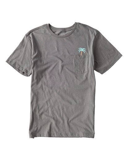 0 Companion T-Shirt Grey M433UBCO Billabong
