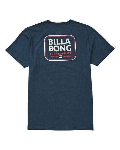 1 Jackson T-Shirt Blue M433UBJA Billabong