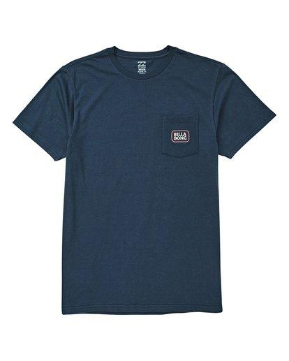 0 Jackson T-Shirt Blue M433UBJA Billabong