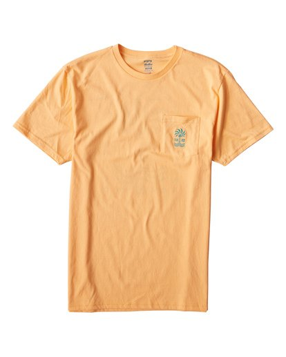 0 Palmspin T-Shirt Orange M433VBPS Billabong