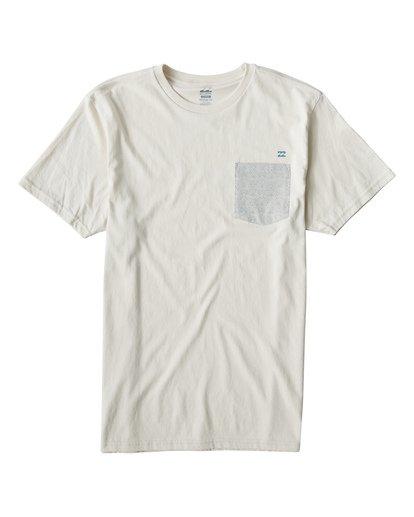 0 Teampocket Mini T-Shirt Brown M433VBTM Billabong