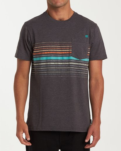 0 Lowtide Short Sleeve T-Shirt Black M433WBLT Billabong