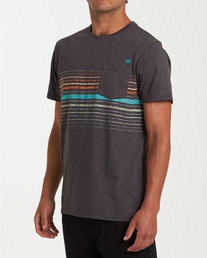 1 Lowtide Short Sleeve T-Shirt Black M433WBLT Billabong