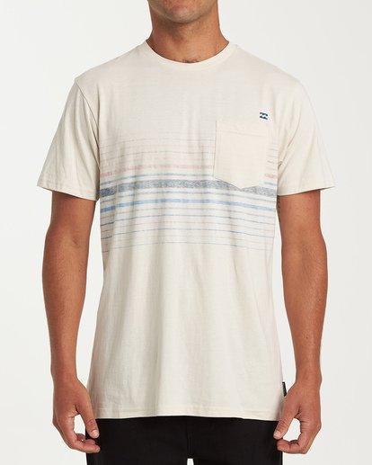 0 Lowtide Short Sleeve T-Shirt Brown M433WBLT Billabong