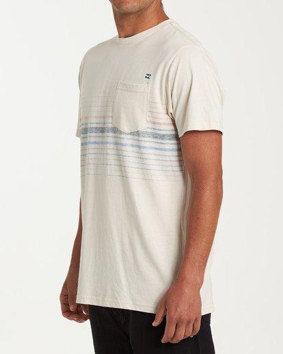 1 Lowtide Short Sleeve T-Shirt Brown M433WBLT Billabong