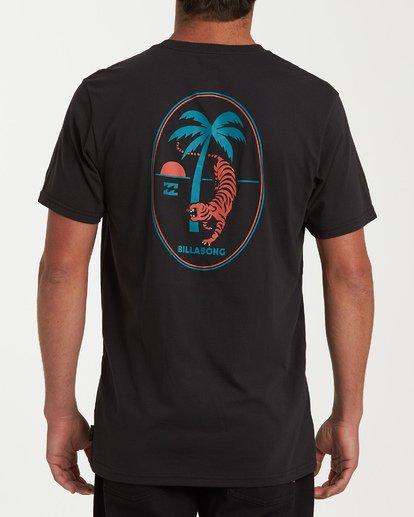 2 Tigerpalm Short Sleeve T-Shirt Black M433WBTI Billabong