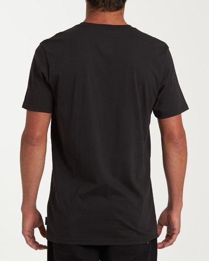 2 Team Pocket Short Sleeve T-Shirt Black M433WBTP Billabong