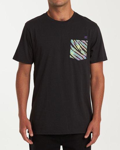 0 Team Pocket Short Sleeve T-Shirt Black M433WBTP Billabong