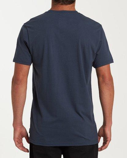 2 Team Pocket Short Sleeve T-Shirt Blue M433WBTP Billabong