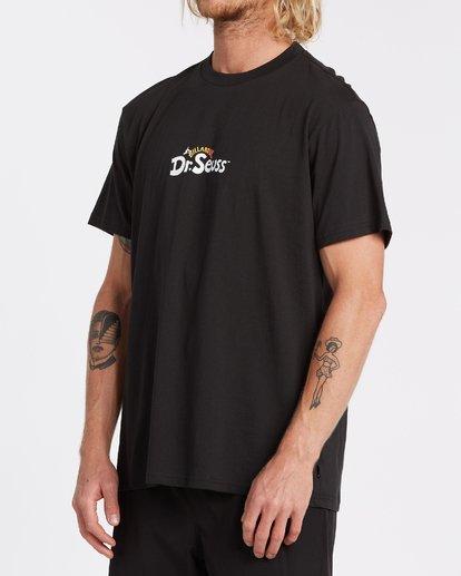 1 Dr. Seuss T-Shirt Black M4352BDS Billabong
