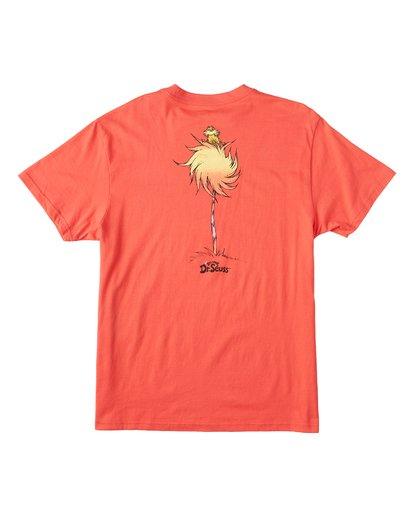 4 Truffula Fade T-Shirt Red M4352BTF Billabong