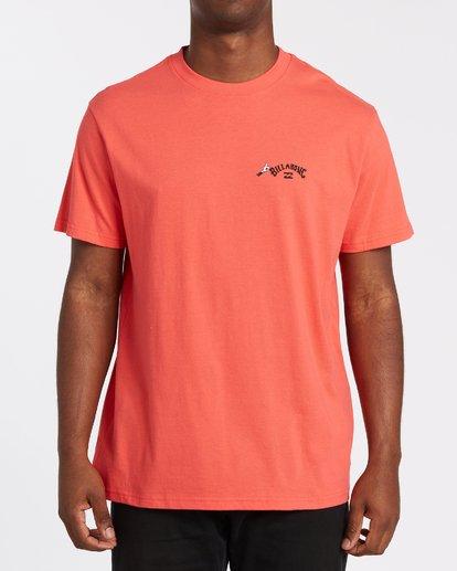 2 Truffula Fade T-Shirt Red M4352BTF Billabong