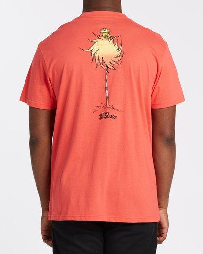 0 Truffula Fade T-Shirt Red M4352BTF Billabong