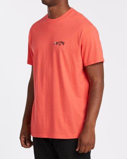 1 Truffula Fade T-Shirt Red M4352BTF Billabong