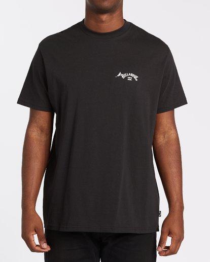 2 Truffula T-Shirt Black M4352BTR Billabong