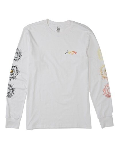 3 Speak For The Trees Long Sleeve T-Shirt White M4362BSP Billabong