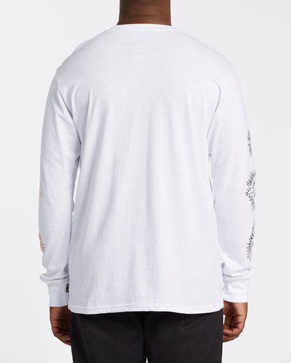 2 Speak For The Trees Long Sleeve T-Shirt White M4362BSP Billabong