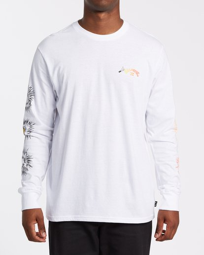 0 Speak For The Trees Long Sleeve T-Shirt White M4362BSP Billabong