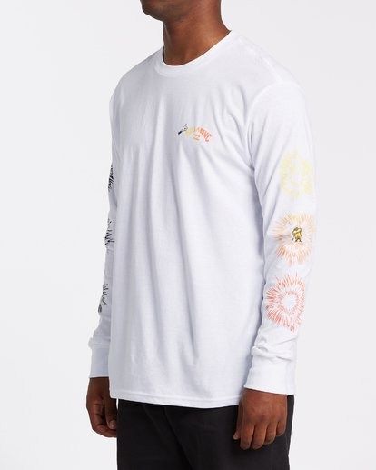 1 Speak For The Trees Long Sleeve T-Shirt White M4362BSP Billabong