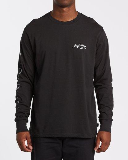 2 Truffula Long Sleeve T-Shirt Black M4362BTR Billabong