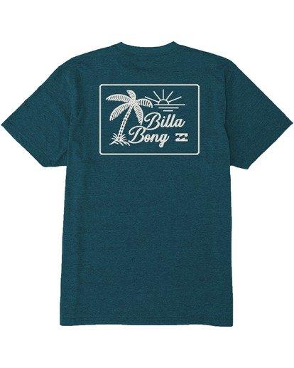 4 Bayside T-Shirt Green M4383BBS Billabong