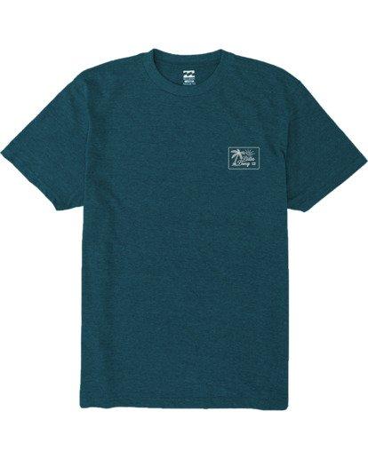 3 Bayside T-Shirt Green M4383BBS Billabong