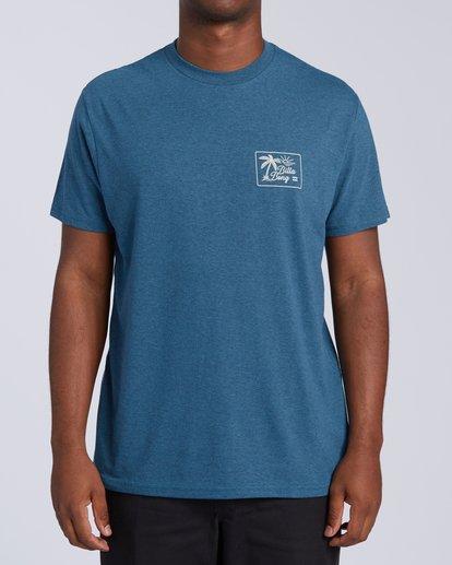 0 Bayside T-Shirt Green M4383BBS Billabong