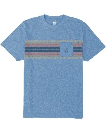 3 All Day Tri-Blend T-Shirt Multicolor M4393BAD Billabong
