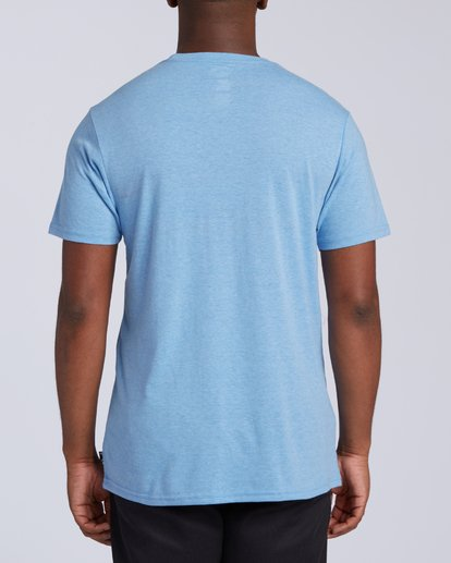 2 All Day Tri-Blend T-Shirt Multicolor M4393BAD Billabong