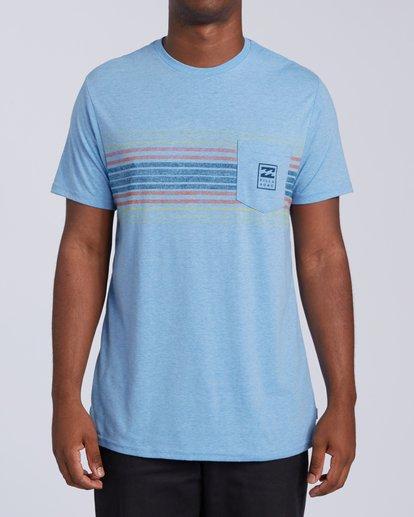 0 All Day Tri-Blend T-Shirt Multicolor M4393BAD Billabong