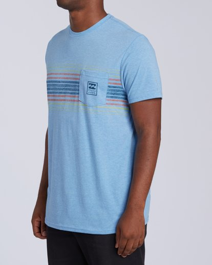1 All Day Tri-Blend T-Shirt Multicolor M4393BAD Billabong