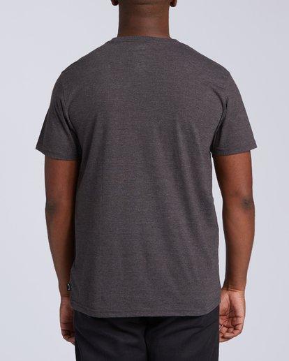 2 United Stacked T-Shirt Black M4393BDC Billabong