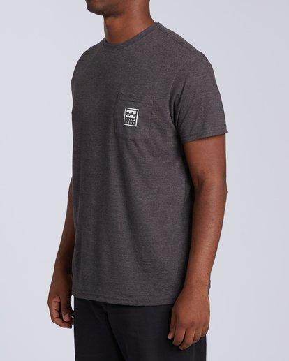 1 United Stacked T-Shirt Black M4393BDC Billabong