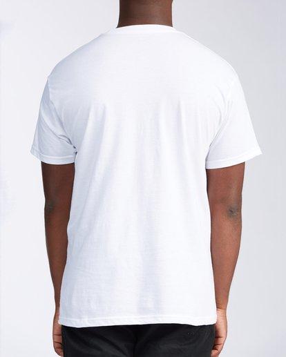2 Florida Eclipse Short Sleeve T-Shirt White M4534EFL Billabong