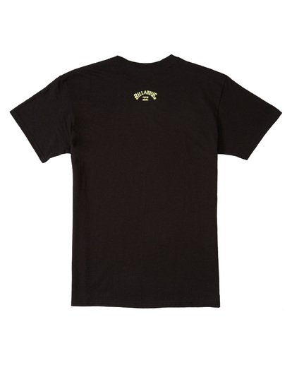 1 Italo World Title T-Shirt Black M4601BIW Billabong