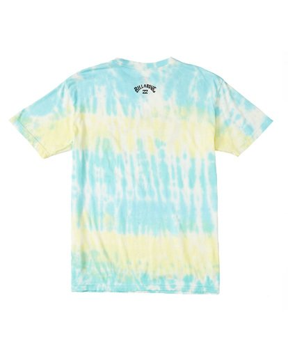 1 Italo World Title Tie Dye T-Shirt Pink M4601BTW Billabong