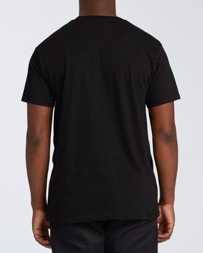 2 Opposite Short Sleeve T-Shirt Black M4601OPM Billabong