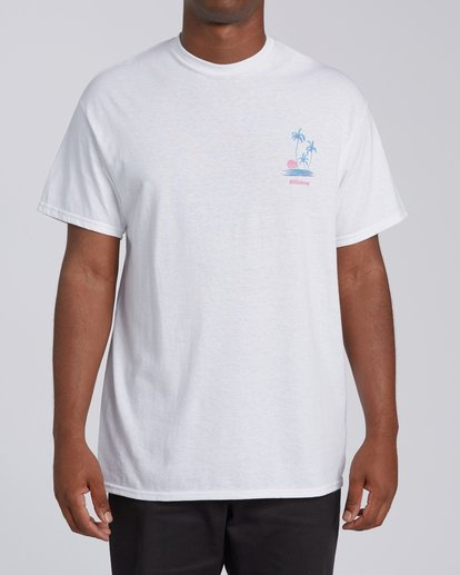 0 Cruiser San Diego Short Sleeve T-Shirt Wht White M4602BCS Billabong