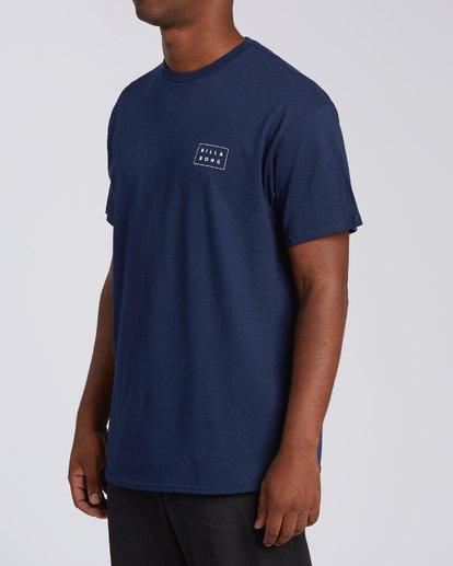 1 RT-Diecut 1 California Short Sleeve T-Shirt Blue M4602BDC Billabong