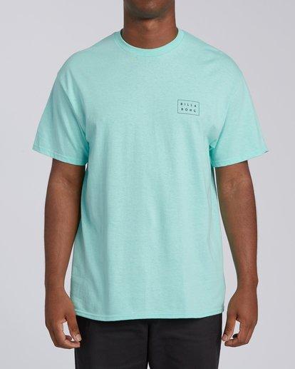 0 Diecut Hawaii Short Sleeve T-Shirt Grey M4602BDI Billabong