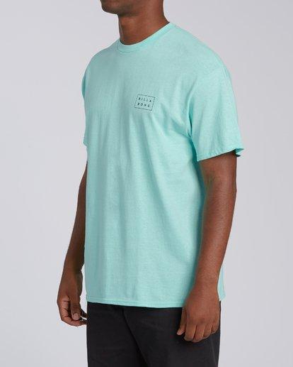 1 Diecut Hawaii Short Sleeve T-Shirt Grey M4602BDI Billabong
