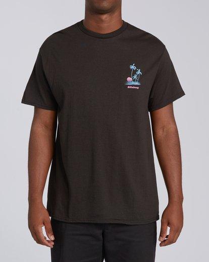 2 EC-Cruiser Short Sleeve T-Shirt Black M4602BEC Billabong