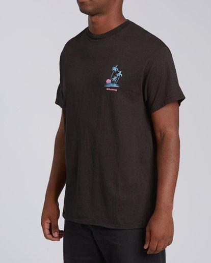 3 EC-Cruiser Short Sleeve T-Shirt Black M4602BEC Billabong