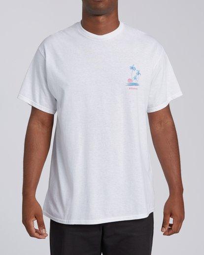 2 EC-Cruiser Short Sleeve T-Shirt White M4602BEC Billabong