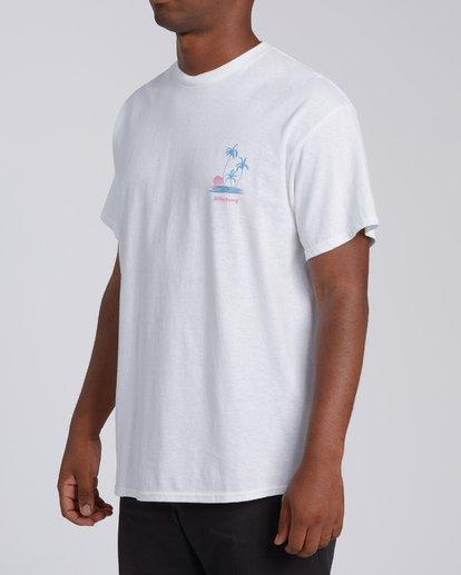 3 EC-Cruiser Short Sleeve T-Shirt White M4602BEC Billabong