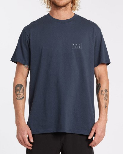 0 EC-Diecut 1 Short Sleeve T-Shirt Blue M4602BED Billabong