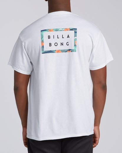 4 EC-Diecut 1 Short Sleeve T-Shirt White M4602BED Billabong