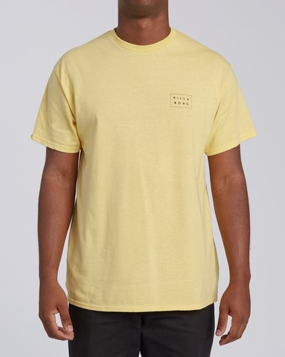 0 EC-Diecut 2 Short Sleeve T-Shirt Yellow M4602BEI Billabong