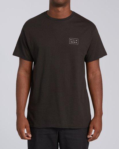 2 EC-Diecut 2 Short Sleeve T-Shirt Black M4602BEI Billabong