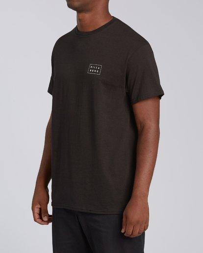 3 EC-Diecut 2 Short Sleeve T-Shirt Black M4602BEI Billabong